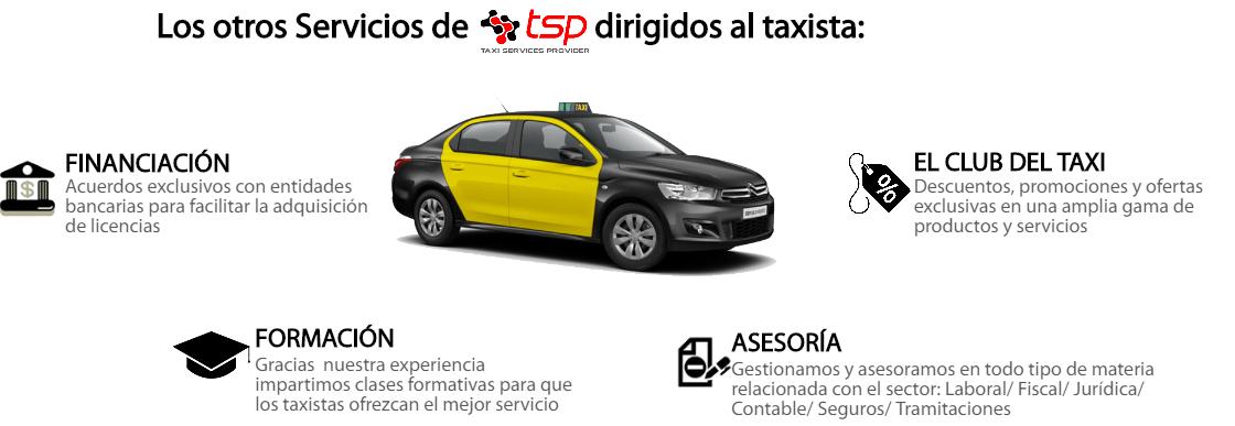 otros servicios taxi