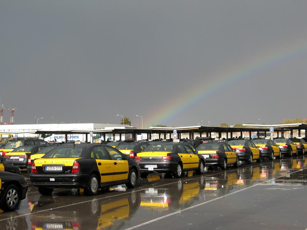 taxis arc de sant martí
